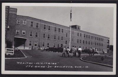Canada MILITARY HOSPITAL St Anne De Bellevue Postcard | #252191800