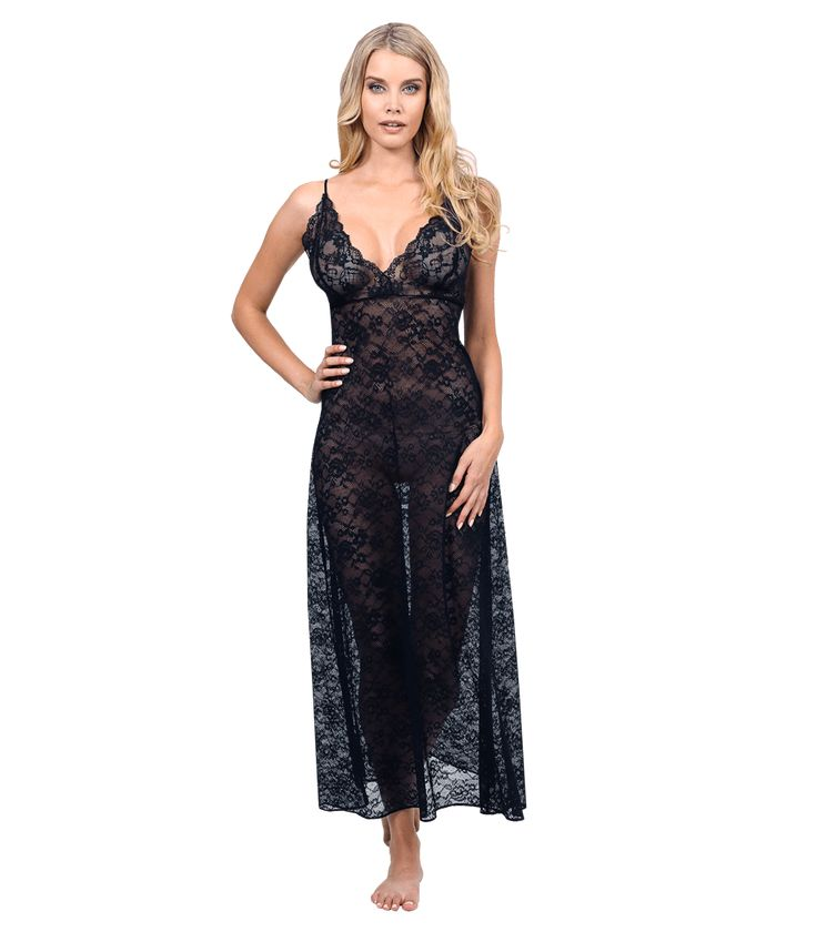 Sophia Lace Gown - Christine Morton designs gorgeous, luxurious gowns. You can meet her and get an exclusive sneak peek at some of her designs this Thursday at Les Boudoirs from noon to 4pm.