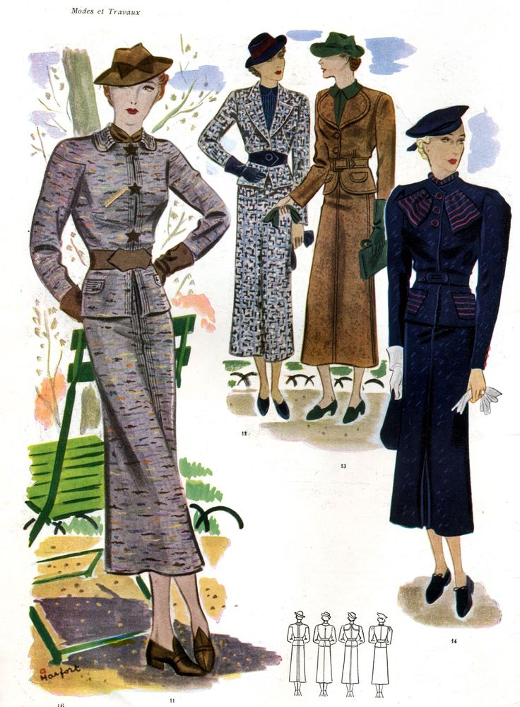 French Fashion 1930s I Might Just Take This Picture With Me Next Time I Visit Johnny The