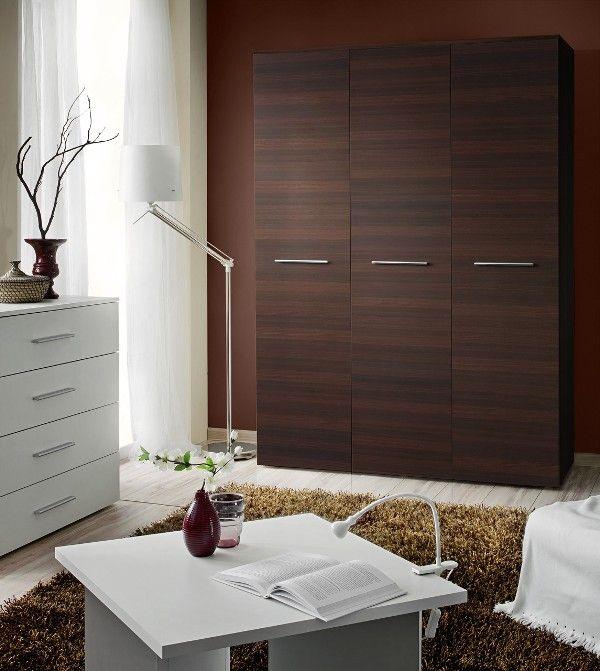 Wardrobe 135e 3 Door Wardrobe Wenge Mat Kleiderschrank Kaufen