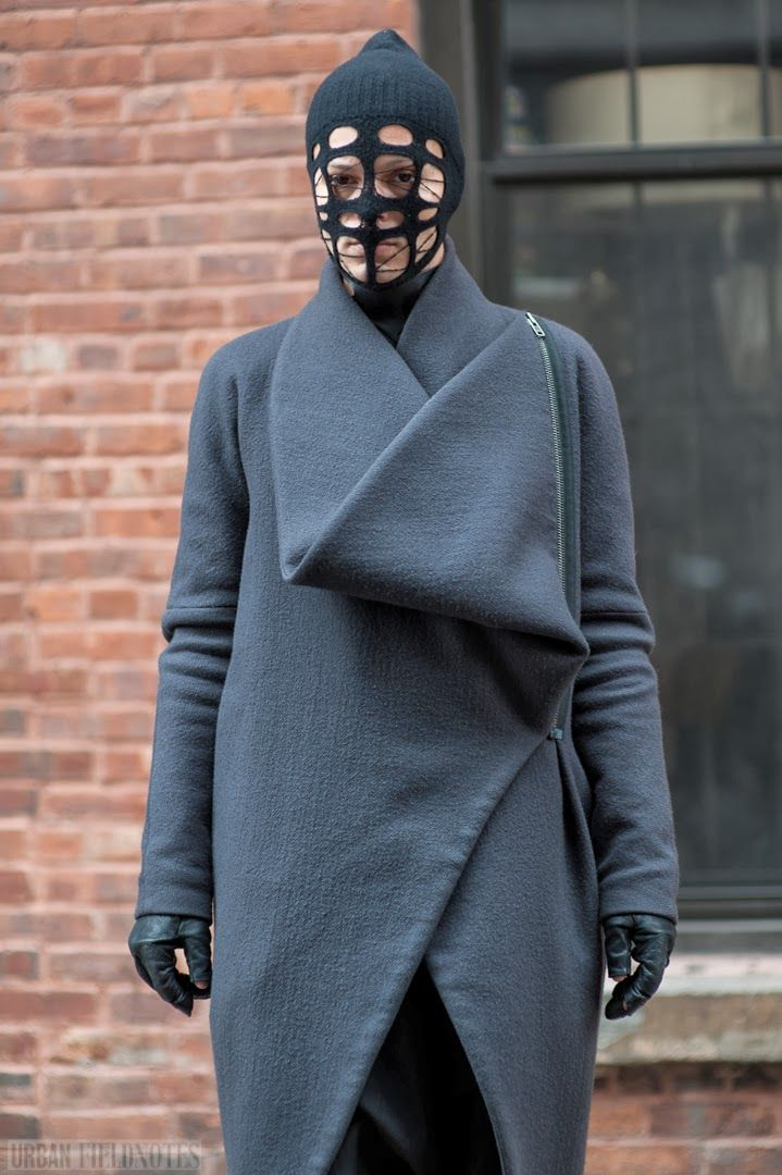 outside Ostwalt Helgason, New York Fashion Week Fall 2014 #streetstyle