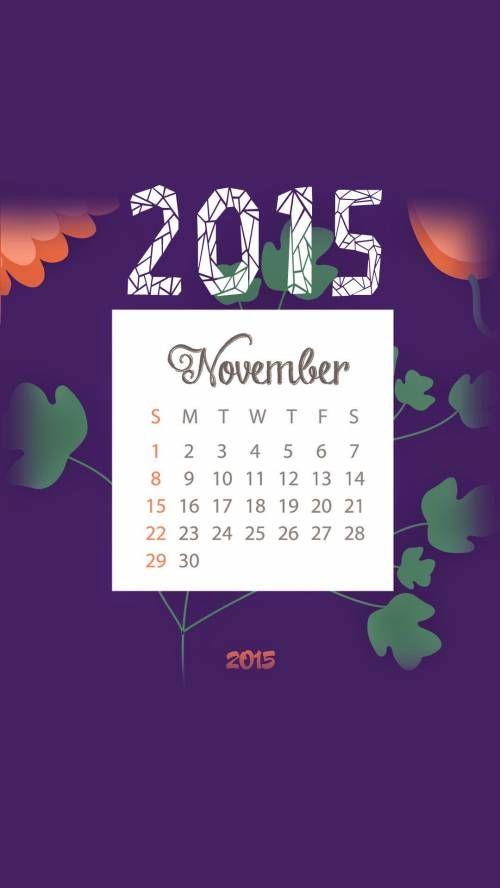 Iphone Calendar Wallpaper November : Best november wallpaper ideas on pinterest