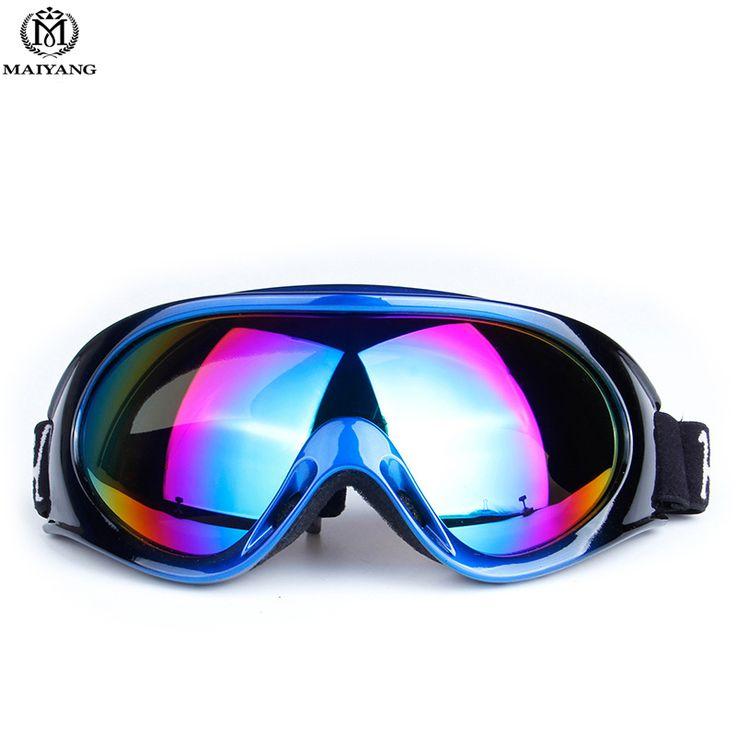 Winter Outdoors Ski Snowboard Goggles for Men Women Multi UV400 Anti-fog Color Lenses Skiing Mask Ski Glasses for Men HX-HB1010