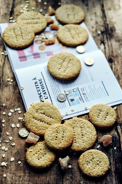 Oat and ginger biscuits