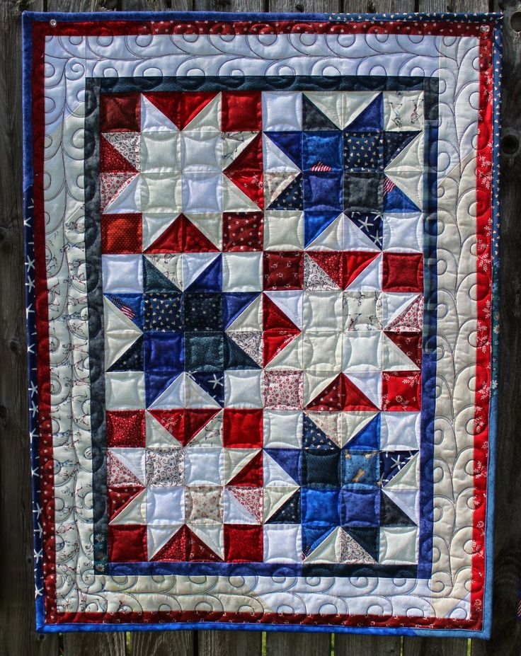 """Katie's Quilts and Crafts: FIREWORK STARS - Free Tutorial - Made with all 2.5"""" Strips!"""