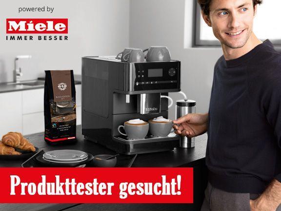 Wow, was für ein großartiges Projekt: #Eat Smarter und #Miele suchen acht Produkttester für Kaffeevollautomaten! #eatsmarter #miele @eatsmarter @miele