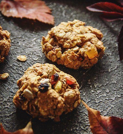 Рецепт овсяного печенья с цукатами