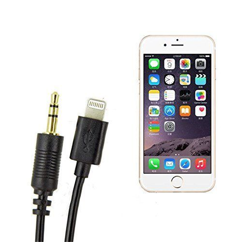 Kosee Lightning Connector to MDI Line Out and USB Sync  Charge Audio Cable Lead Compatible with Select Audi  Volkswagen Vehicles See Compatibility List for Apple iPod iPhone and iPad -- Check this awesome product by going to the link at the image.