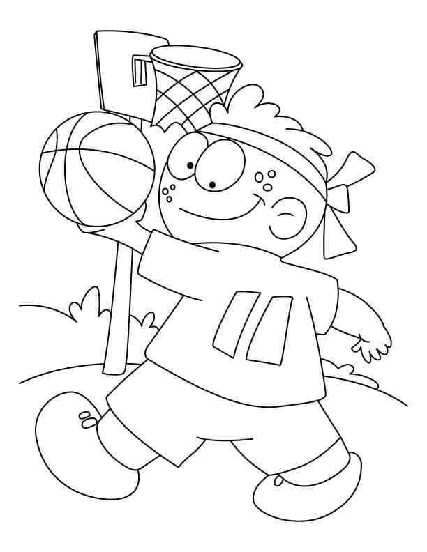 Malvorlagen Basketball Für Kleinkinder   – Coloring Sheets For Kids