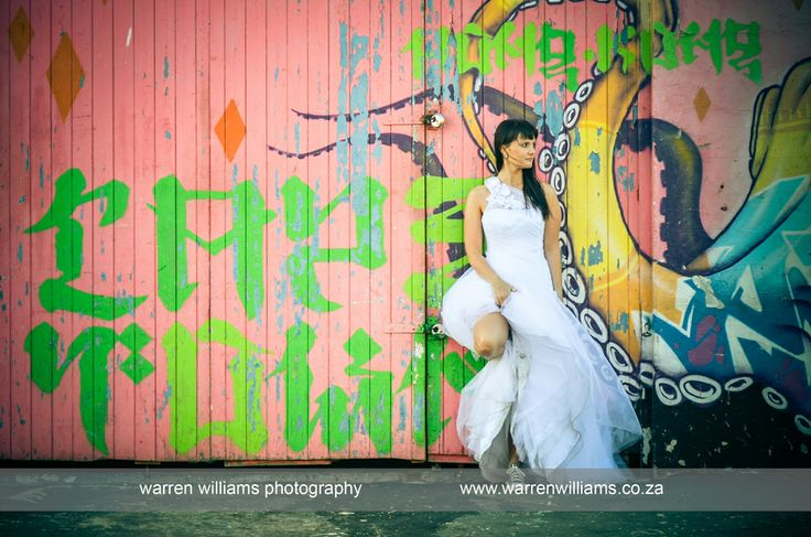 Woodstock, Cape Town Trash the Dress