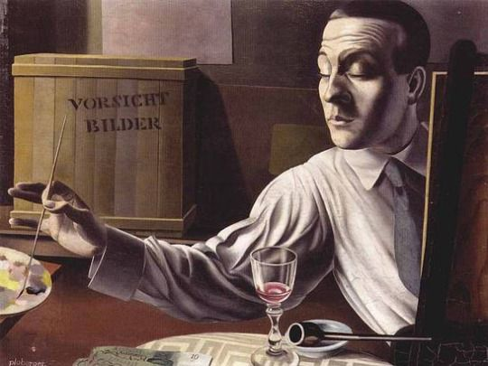 Herbert Ploberger, Self-Portrait, 1925