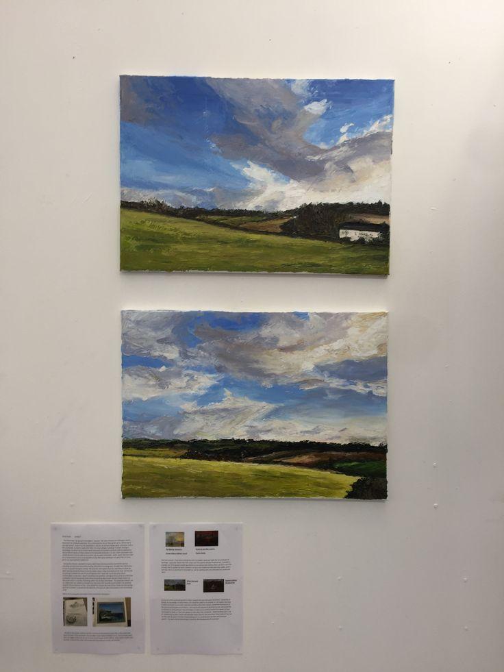 Emily - Impasto Landscape.