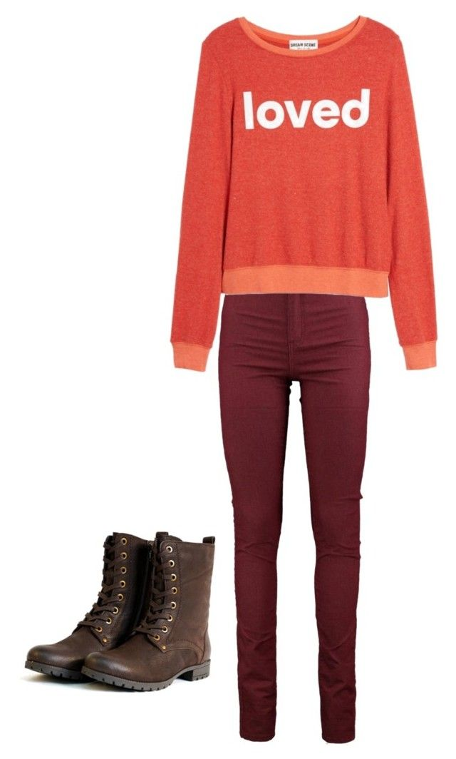 """""""Middle school"""" by ana-johnston on Polyvore featuring Dream Scene"""