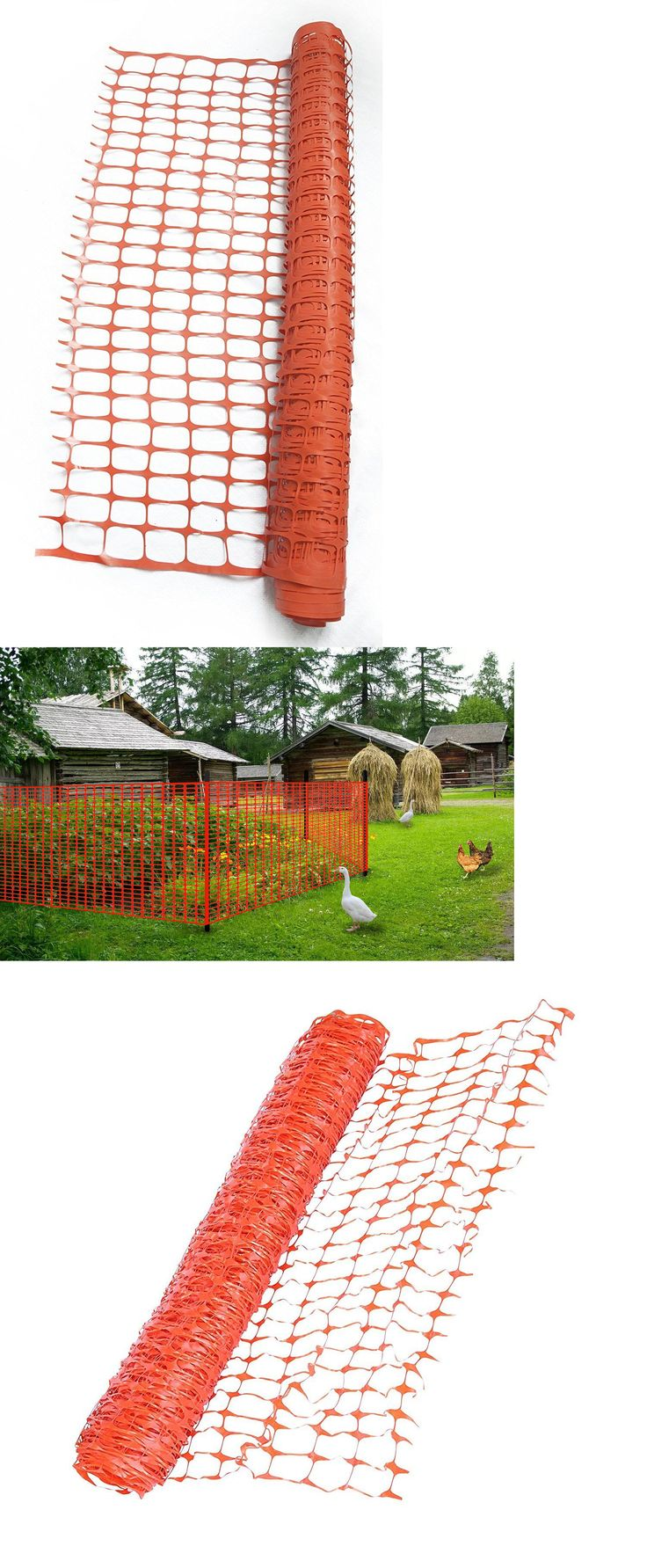 Other Garden Fencing 177033: V Proteck Safety Fence, Snow Fence, Safety Barrier, Orange,39 X82 -> BUY IT NOW ONLY: $35.99 on eBay!