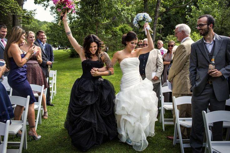 22 lindas fotos de casamentos gays