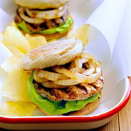 Had these babies for dinner tonight. Yum! Grilled Turkey and Zucchini Burger