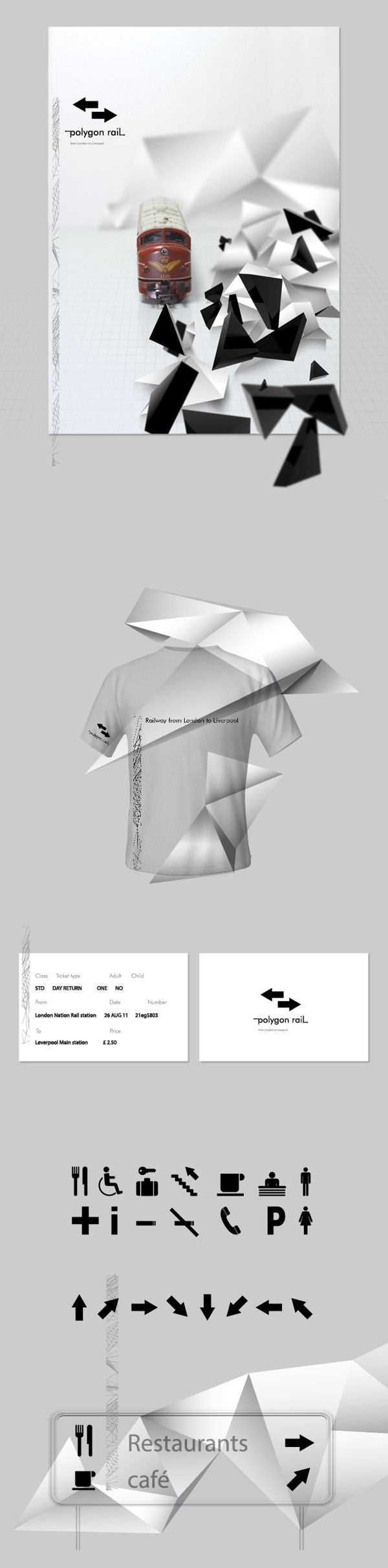 Polygon rail by Martin Kraus, via Behance
