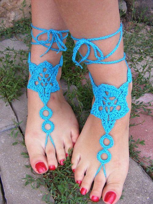 Free Crochet Adult barefoot Sandal Pattern | barefoot sandal | Tumblr