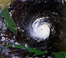 Hurricane Andrew was a destructive tropical cyclone that was, at the time, the costliest hurricane in US history. The 4th tropical cyclone,1st named storm.1st hurricane of the 1992 Atlantic season, Andrew developed from a tropical wave on Aug 16.Andrew strengthened into a Cat 5  on Aug 23. The system weakened slightly over the Bahamas to a Cat 4 hurricane, but briefly re-intensified into a Cat 5 hurricane on August 24 before making landfall on Elliott Key, in Homestead, Florida.