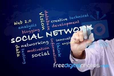 "Social Networking Concept ""Image courtesy of KROMKRATHOG / FreeDigitalPhotos.net"""