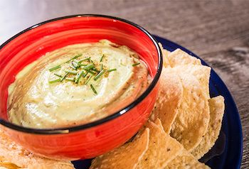 Try this recipe! Pair our Barrel o' Fun Tortilla Chips with Creamy Avocado Yogurt Dip for maximum dip enjoyment. Perfect as an appetizer or snack!