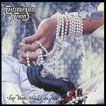 45cat - Thompson Twins - Lay Your Hands On Me / The Lewis Carol - Arista - UK - TWINS 6