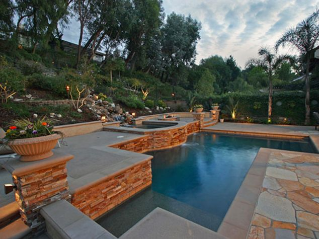 Jacuzzi, Pool, Landscape Built By Blue Pacific Pools, Check Out Our Website  For