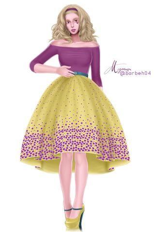 Dots dots dots dress
