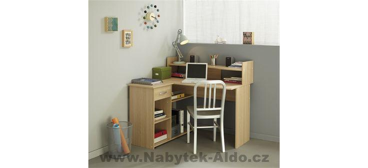 Rohový psací stůl Moving 9830BUAN