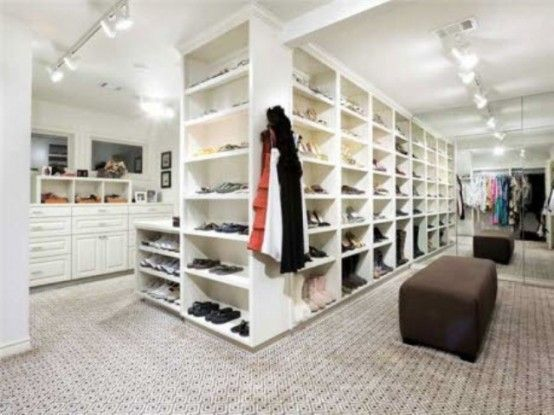 Walk In Closets On Pinterest The Closet Walk In And Dream Closets