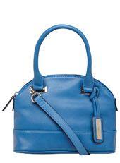 Blue mini curve bowler bag