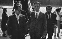 Lubomir Štrougal és Lázár György (jobbra), 1981