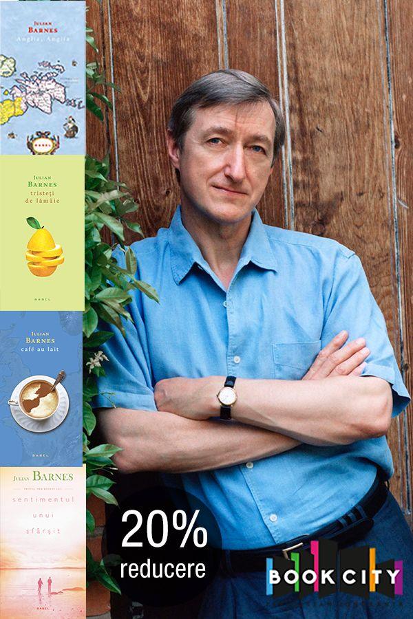 Titlurile savurosului Julian Barnes, autorul lunii pe Bookcity, au 20% reducere. Completează-ți colecția, aici: http://bit.ly/1IWTGCO