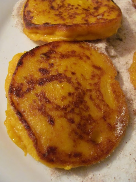 South African Pumpkin Fritters RECIPE