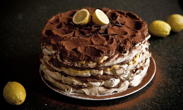 Čokoládovo-citrónový Meringue  | KITCHENETTE