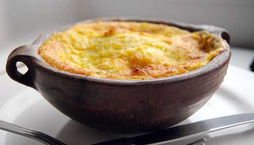 Pastel de choclo - Chilean ground beef and corn pie