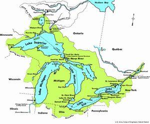 Grandes Lagos (América del Norte) -