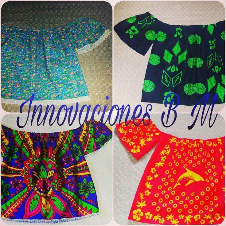 Camisolas en paruma saborete musue y saraza by Innovaciones B M de la diseñadora Lilia Morales