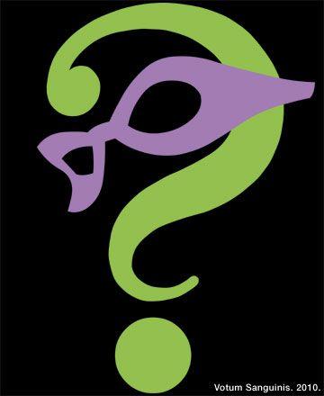 the riddler | Riddler Supervillain Comics Logo – Batman's Enemy Design