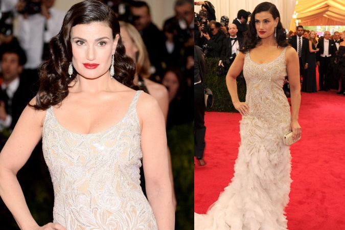 Get Idina Menzel's old-Hollywood beauty look from the 2014 Met Gala