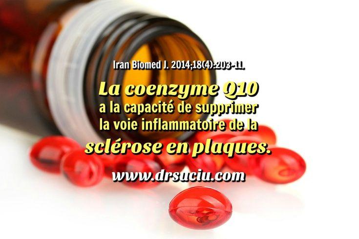 Photo drsuciu La Coenzyme Q10 et la sclérose en plaques