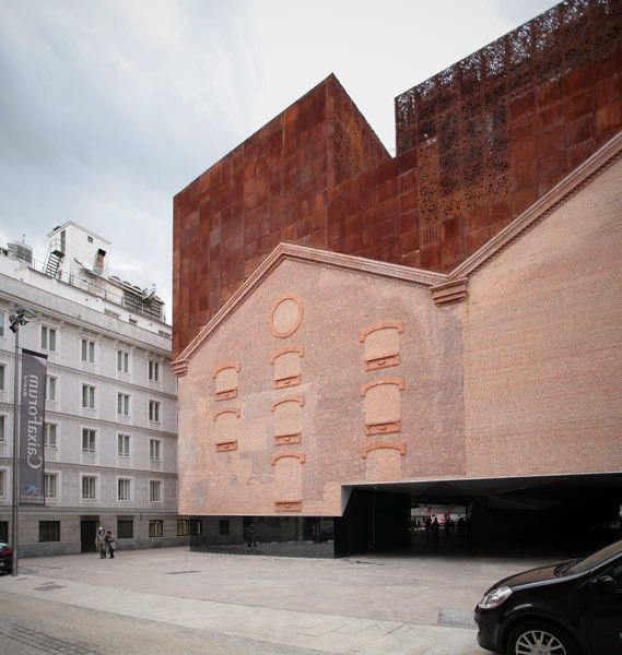 Four Ways To Better Interior Design Installations: Caixa Forum Madrid Building