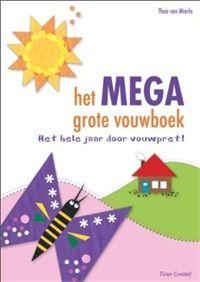 #Boekentip Papiergoed nr. 5: Het MEGA grote vouwboek   Kinderen blijven vouwen geweldig vinden!