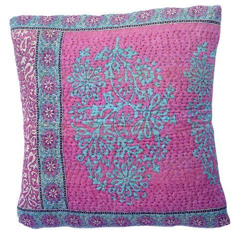 Basha Sherbert Kantha Cushion