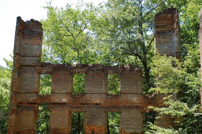 4. Alexander's Mill Ruins—Lithia Springs