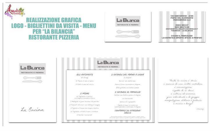 Graphyc by Annalisa Benedetti for La Bilancia Ristorante - (Massarosa - Italy)