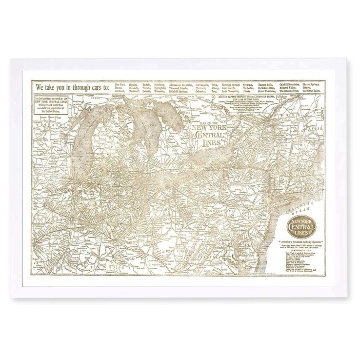 Hatcher and Ethan 'New York Central Lines Gold' Art