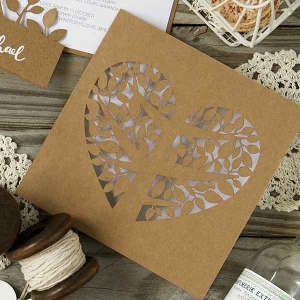 Gorgeous DIY wedding, engagement, event invitations. Follow our quick tutorial on the blog