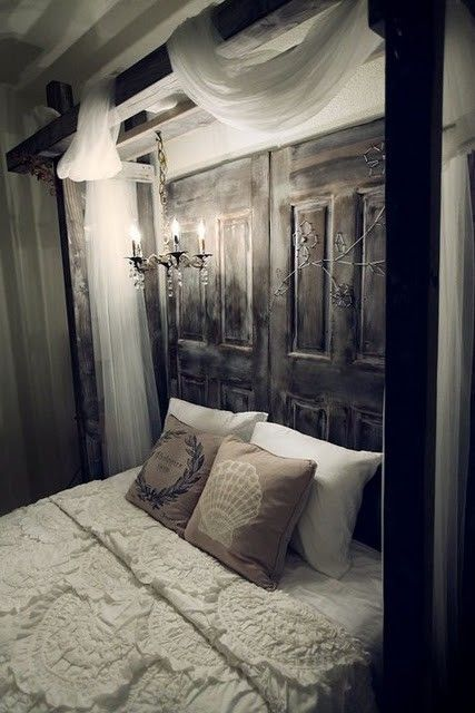 This is a beautiful and romantic shabby chic bed...