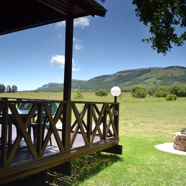 Nature reserve wirh self catering accommodation and offers hiking